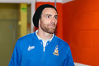 Romain Vincelot of Bradford City during the Sky Bet League 1 match between Blackpool and Bradford City at Bloomfield Road, Blackpool, England on 7 April 2018. Photo by Thomas Gadd.