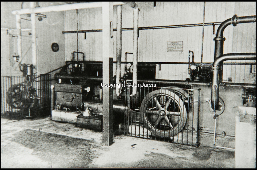 BNPS.co.uk (01202 558833)<br /> Pic: JanJarvis/BNPS<br /> <br /> The hardening house of the gunpowder factory back in the 1860's.<br /> <br /> A lot of bang for your buck...<br /> <br /> A former royal hunting lodge that went on to become a world-renowned gunpowder factory has exploded onto the property market.<br /> <br /> Eyeworth Lodge, in the picturesque surroundings of Fritham in the New Forest, was the perfect isolated place for the risky business that saw lots of men injured or even killed, but it is now a stunning country home for anyone who wants to escape to the country.<br /> <br /> The seven-bedroom home, which has eight acres of land, is on the market with Strutt & Parker for £4million.
