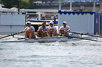 THE BRITANNIA CHALLENGE CUP<br /> The Tideway Scullers'  School 'B' (431)<br /> Molesey B.C. 'A' (422)<br /> <br /> Henley Royal Regatta 2018 - Thursday<br /> <br /> To purchase this photo, or to see pricing information for Prints and Downloads, click the blue 'Add to Cart' button at the top-right of the page.