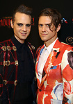 """Jordan Roth and Aaron Tveit attends the Broadway Opening Night performance After Party for """"Moulin Rouge! The Musical"""" at the Hammerstein Ballroom on July 25, 2019 in New York City."""
