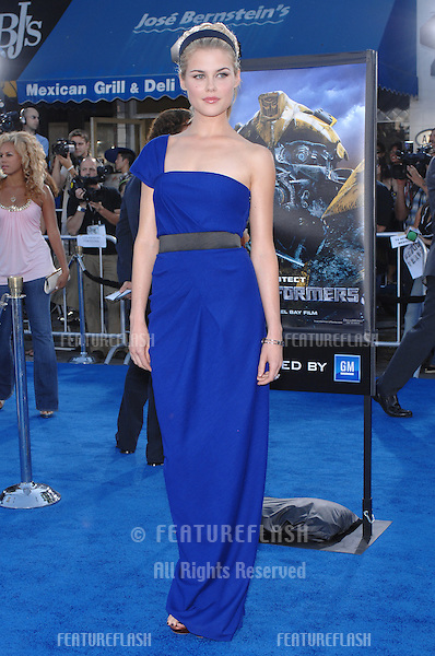 """Rachael Taylor at the Los Angeles premiere of her new movie """"Transformers""""..June 28, 2007  Los Angeles, CA.Picture: Paul Smith / Featureflash"""