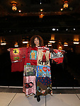 Afra Hines during the Opening Night Actors' Equity Gypsy Robe Ceremony honoring  Afra Hines for 'Summer:The Donna Summer Musical at Lunt-Fontanne Theatre on April 23, 2018 in New York City.