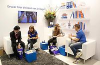 Nederland Amsterdam 2016 04 15. De Nationale Carrierebeurs voor werkzoekenden in de Rai. Beursstand van Continu.  Foto Berlinda van Dam / Hollandse Hoogte