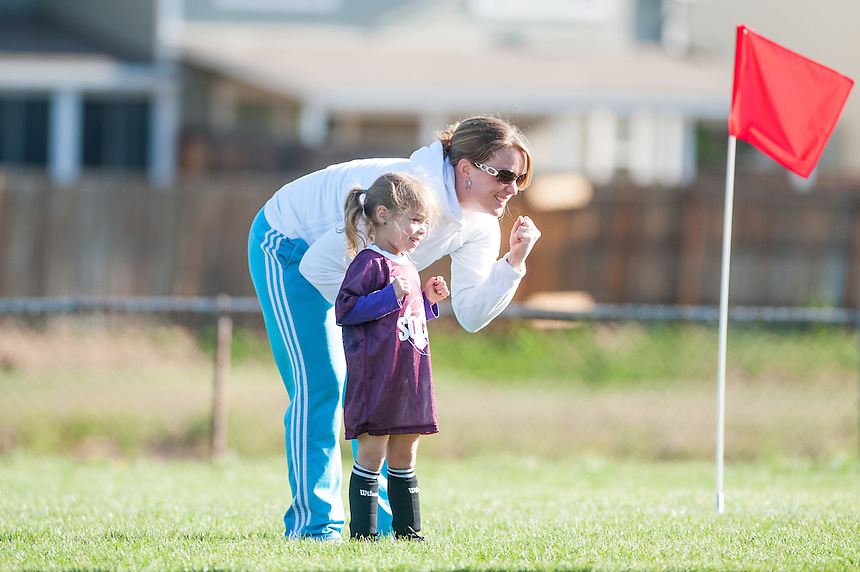 4/14/12 - Armstrong's soccer team, Skyview Elementary School, Saturday Morning.