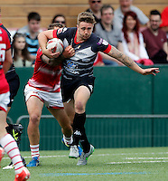 Ben Hellewell in action for London during the Kingstone Press Championship game between London Broncos and Leigh Centurions at Ealing Trailfinders, Ealing, on Sun June 26,2016