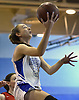 Samantha Muller #23 of North Babylon, hits a lay up off a fast break during a non-league girls basketball game against St. John the Baptist at Robert Moses Middle School in North Babylon on Saturday, Dec. 22, 2018. She scored 26 points in North Babylon's 71-61 win.