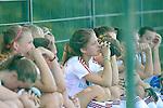 Mannheim, Germany, October 19: Spiel um Platz 3 in der Zwischenrunde zur Deutschen Meisterschaft der WJA zwischen dem Nuernberger HTC und RW Koeln in der Saison 2014/15 am October 19, 2014  Mannheimer Hockey Club in Mannheim, Germany. Endstand 3-0. (Photo by Dirk Markgraf / www.265-images.com) *** Local caption ***