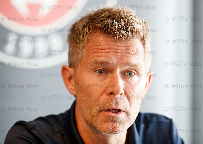 07.08.2019 FC Midtjylland and Rangers pressers: Manager Kenneth Andersen