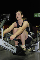 Birmingham, Great Britain, Women's  Open, Bronze medallist, Aileen Stirling  .Clydesdale ARC,  competing at the 2008 British Indoor Rowing Championships, National Indoor Arena. on  Sunday 26.10.2008 .   [Photo, Peter Spurrier/Intersport-images] ..