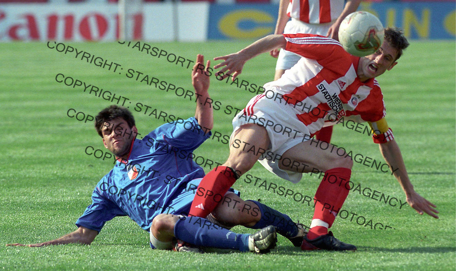 crvena zvezda - vojvodina, fudbal, ivan gvozdenovic&amp;#xA;bgd; 26.04.2003&amp;#xA;foto: djordje popovic<br />