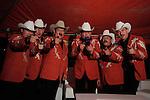 Cardenales de Nuevo Leon durante su presentación en el baile anual de la estación de radio la Mejor fm 98.5. Hermosillo, Sonora. 3,Sep,2012...Luis Gutierrez/NortePhoto