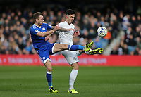 Queens Park Rangers' Sean Goss and Cardiff City's Aron Gunnarsson<br /> <br /> Photographer /Rob NewellCameraSport<br /> <br /> The EFL Sky Bet Championship - Queens Park Rangers v Cardiff City - Saturday 4th March 2017 - Loftus Road - London<br /> <br /> World Copyright &copy; 2017 CameraSport. All rights reserved. 43 Linden Ave. Countesthorpe. Leicester. England. LE8 5PG - Tel: +44 (0) 116 277 4147 - admin@camerasport.com - www.camerasport.com
