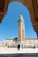 Moschea Hassan II. Casablanca, 22 maggio 2012..Hassan II Mosque. Casablanca, May 22, 2012.