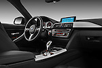 Passenger side dashboard view of a 2013 BMW 330d Touring Wagon