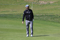 Andy Sullivan (ENG) on the 1st fairway during Round 3 of the Open de Espana 2018 at Centro Nacional de Golf on Saturday 14th April 2018.<br /> Picture:  Thos Caffrey / www.golffile.ie<br /> <br /> All photo usage must carry mandatory copyright credit (&copy; Golffile | Thos Caffrey)