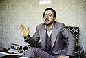 Iran 1983.Idriss Barzani.Iran 1983.Idriss Barzani