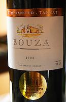 Tempranillo Tannat 2004 las Violetas. Bodega Bouza Winery, Canelones, Montevideo, Uruguay, South America