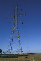 Power Pylons across Farm Lands
