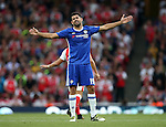 Chelsea's Diego Costa looks on dejected during the Premier League match at the Emirates Stadium, London. Picture date September 24th, 2016 Pic David Klein/Sportimage