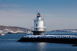 Spring Point Ledge Light, Casco Bay, South Portland, ME, USA