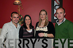 Iin Style: celebrating New Year's Eve in Fitzgerald's Restaurant, Listowel were Tony Dalton, Mary Flavin, Katie Scanlon and Johnny Scanlon all from Athea.