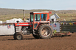 Jordan Valley Big Loop Rodeo, 50th..1970 Massey-Ferguson 1100 tractor with cab