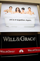 """LOS ANGELES - AUG 2:  Atmosphere, Poster, Will & Grace at the """"Will & Grace"""" Start of Production Kick Off Event at the Universal Studios on August 2, 2017 in Universal City, CA"""
