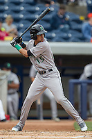 Dayton Dragons outfielder Jose Siri (15) at bat against the West Michigan Whitecaps on April 24, 2016 at Fifth Third Ballpark in Comstock, Michigan. Dayton defeated West Michigan 4-3. (Andrew Woolley/Four Seam Images)