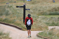 Shane at a crossroads during Round 1 of the Dubai Duty Free Irish Open at Ballyliffin Golf Club, Donegal on Thursday 5th July 2018.<br /> Picture:  Thos Caffrey / Golffile