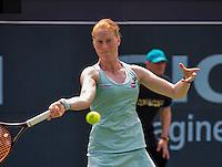 Den Bosch, Netherlands, 07 June, 2016, Tennis, Ricoh Open, Alison Van Uytvanck (BEL)<br /> Photo: Henk Koster/tennisimages.com