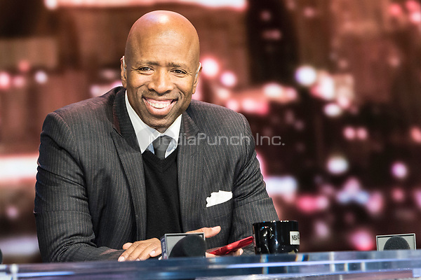 LAS VEGAS, NV - JANUARY 11: Kenny Smith pictured during a special live NBA On TNT Telecast at CES 2018 in Las Vegas, Nevada on January 11, 2018. Credit: Damairs Carter/MediaPunch