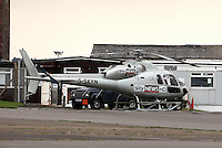 Pictured: Sky News HD helicopter. 16 September 2011<br />