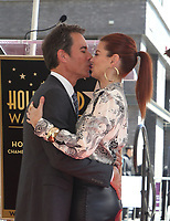 LOS ANGELES, CA - SEPTEMBER 13: Eric McCormack, Debra Messing, at the Hollywood Walk Of Fame Ceremony honoring Eric McCormack in Los Angeles, California on September 13, 2018. <br /> CAP/MPIFS<br /> &copy;MPIFS/Capital Pictures