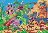 Alfredo, CUTE ANIMALS, puzzle, paintings(BRTO31186CP,#AC#) illustrations, pinturas, rompe cabeza