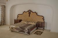 Das Bett im Haus im Drakenstein-Gefängnis in der Nähe von Paarl, Südafrika, in dem Mandela in den letzten Monaten seiner 27 Jahre langen Gefangenschaft inhaftiiert war