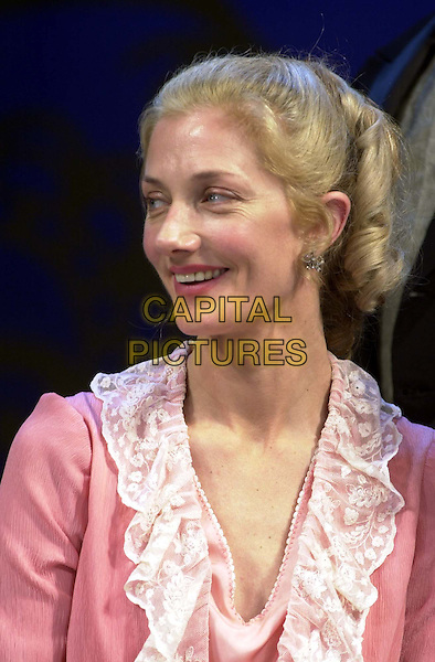 JOELY RICHARDSON .Photocall for the new production of Lady Windermere's Fan which opens at the Theatre Royal, Haymarket on Thursday.stage, acting, headshot, portrait.*RAW SCAN - photo will be adjusted for publication*.www.capitalpictures.com.sales@capitalpictures.com.© Capital Pictures