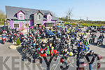 POKER RUN: Bikers from around Munster who took part in the Poker Run from O'Riada Bar & Restaurant on Saturday morning to head off around North Kerry for Falative care Unit KG and Mary Mount Hospice Cork................. . ............................... ..........