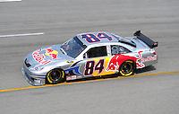 May 2, 2008; Richmond, VA, USA; NASCAR Sprint Cup Series driver A.J. Allmendinger during practice for the Dan Lowry 400 at the Richmond International Raceway. Mandatory Credit: Mark J. Rebilas-US PRESSWIRE
