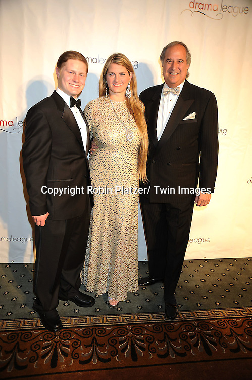 Alex Washer, Bonnie Comly and husband Stewart Lane attending The Drama League's 27th Annual All-Star Benefit Gala honoring Patti LuPone.on February 7, 2011 at The Pierre Hotel in New York City.