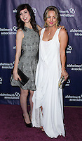 "BEVERLY HILLS, CA, USA - MARCH 26: Briana Cuoco, Kaley Cuoco at the 22nd ""A Night At Sardi's"" To Benefit The Alzheimer's Association held at the Beverly Hilton Hotel on March 26, 2014 in Beverly Hills, California, United States. (Photo by Xavier Collin/Celebrity Monitor)"