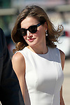 Queen Letizia of Spain during the Farewell with Honors previous to their official visit to the United Kingdom. July 11, 2017. (ALTERPHOTOS/Acero)