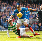 11.3.2018 Rangers v Celtic:<br /> Greg Docherty and Jack Hendry
