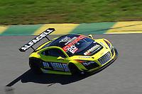 RIO DE JANEIRO, RJ, 21 DE JULHO 2012 - CAMPEONATO BRASILEIRO DE GRAN TURISMO - 4ª ETAPA - RIO DE JANEIRO - O piloto Wagner Ebrahim, marca o segundo tempo para a 1ª bateria da 4ªetapa do Campeonato Brasileiro de Gran Turismo, disputado no Autodromo Internacional Nelson Piquet, Jacarepagua, Rio de Janeiro, neste sábado, 21. FOTO BRUNO TURANO  BRAZIL PHOTO PRESS