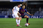 UEFA Women's Champions League 2018/2019.<br /> Quarter Finals.<br /> FC Barcelona vs LSK Kvinner FK: 3-0.<br /> Ingrid Wold vs Alexia Putellas.