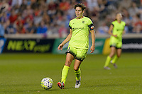 Chicago, IL - Sunday Sept. 04, 2016: Keelin Winters during a regular season National Women's Soccer League (NWSL) match between the Chicago Red Stars and Seattle Reign FC at Toyota Park.