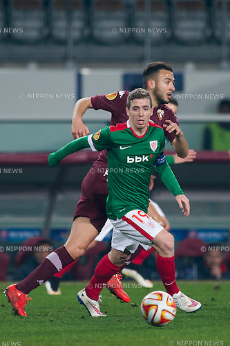 Iker Munian (Bilbao), FEBRUARY 19, 2015 - Football / Soccer : UEFA Europa League, round of 32 first leg match between Torino FC 2-2 Athletic Club Bilbao at Stadio Olimpico di Torino in Turin, Italy. (Photo by Maurizio Borsari/AFLO)