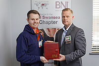 Pictured: Tuesday 16 April 2019<br /> Re: BNI meeting at the Village Hotel, Swansea, Wales, UK.