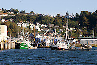 Commercial fishing boats, Astoria, Oregon & the Columbia River