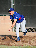 Cole St Clair / Los Angeles Dodgers 2008 Instructional League..Photo by: Bill Mitchell / Four Seam Images