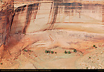 Sliding House Ruin, Canyon de Chelly from Sliding House Overlook, Anasazi Hisatsinom Cliff Dwellings, Canyon de Chelly National Monument, Navajo Nation, Chinle, Arizona